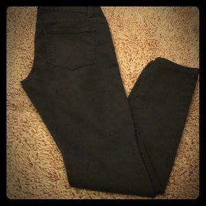 Forever 21 skinny dark denim jeans
